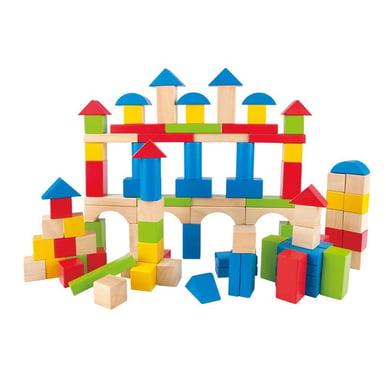 Build-Up-Away-Blocks-100-pcs-by-Hape-070-E0427
