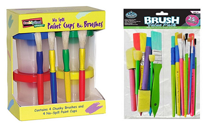 Paint-cups-brushes