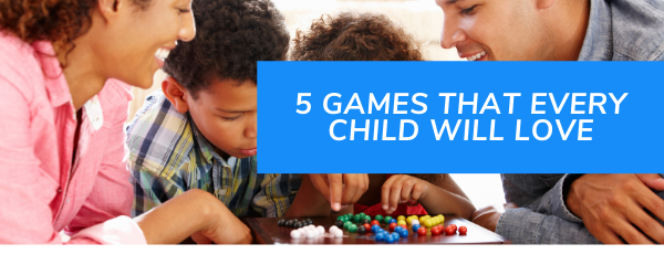 5 Games that are Fun and Can Help Children Learn