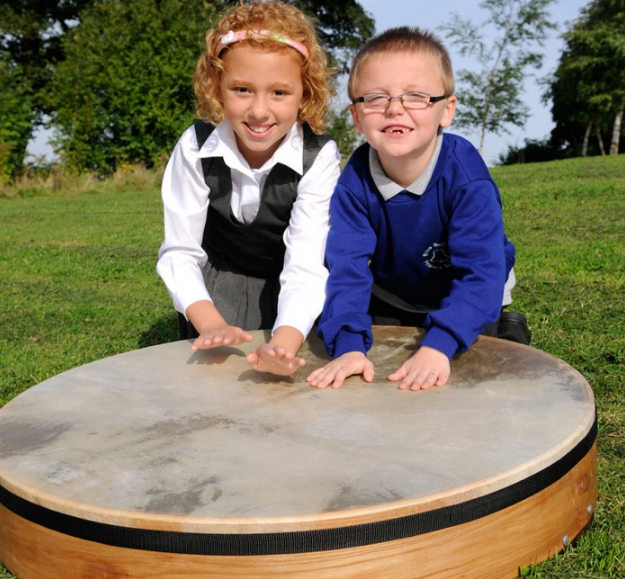 Celebrate, communicate, and make a lot of noise with our  Gathering Drum .