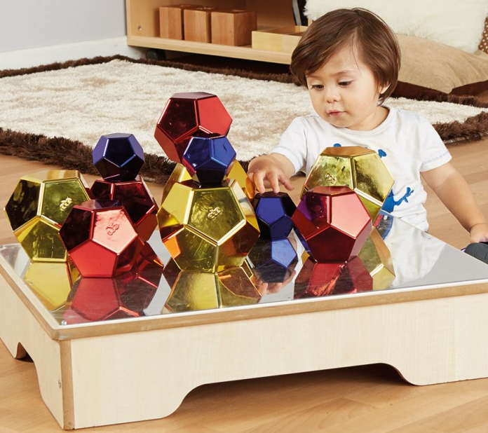 These  Colourful Metallic Boulders  can be stacked, sorted and rolled and are great for high level engagement. They can be used by kids of all ages in a variety of open-ended learning opportunities.