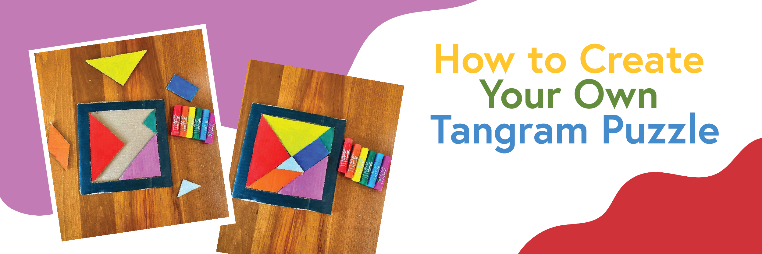 Create Your Own Cardboard Tangram Puzzle