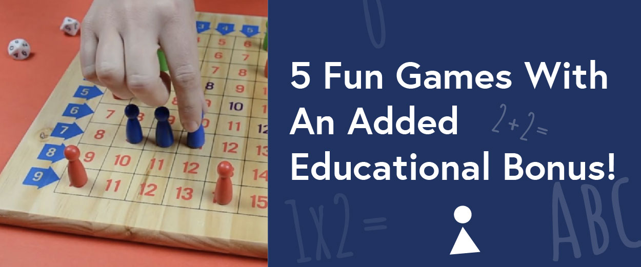 Top 5 Fun Games With An Added Educational Bonus