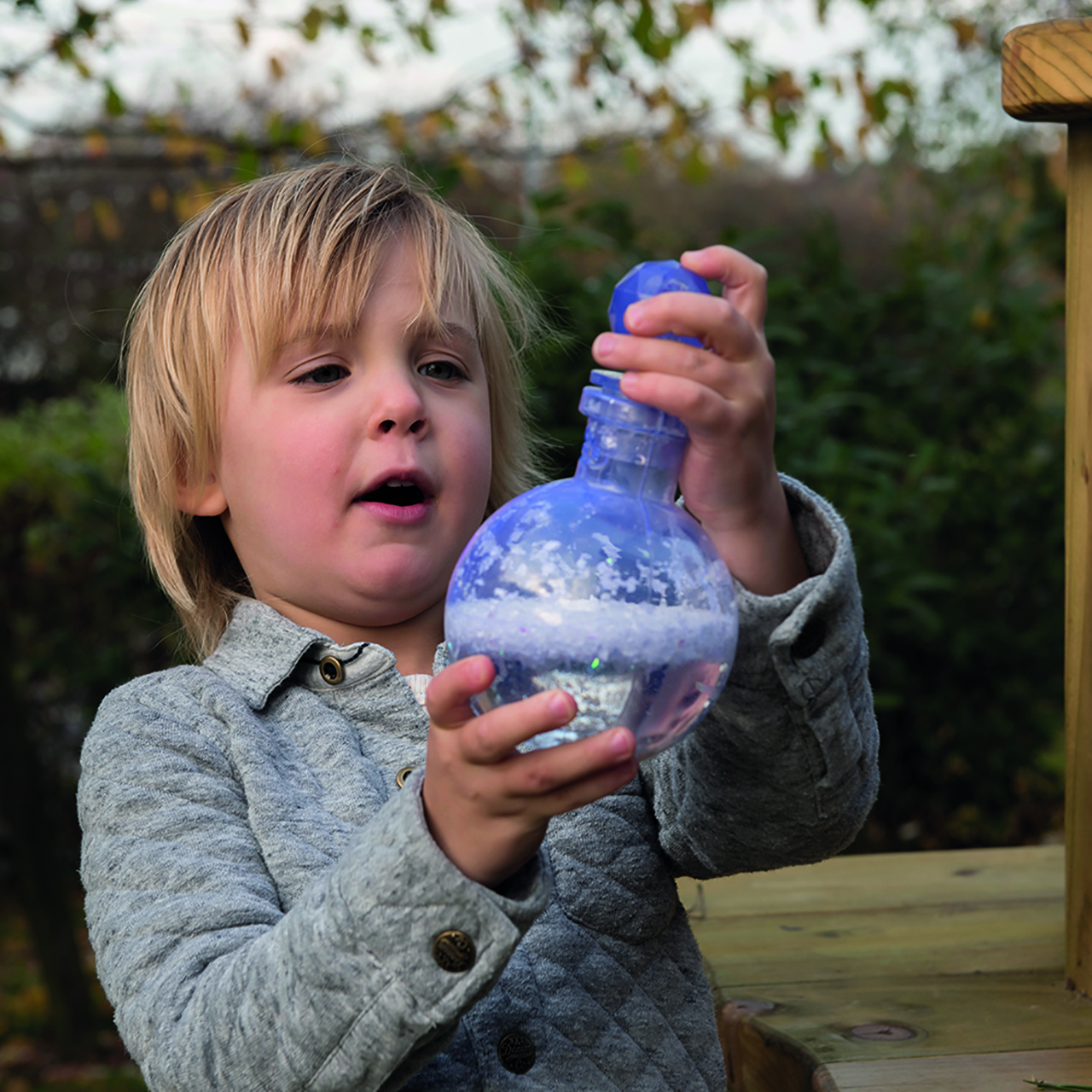 Create learning provocations and possibilities with Potion Bottles